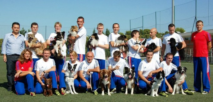 Equipe de France Agility 2012